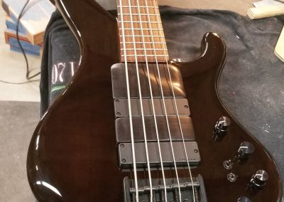 Muckelroy Bass Ensemble Custom 5 - pre-owned Front 3